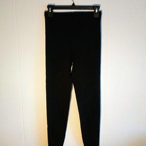 Danskin black dance leggings sz large new unworn